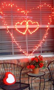 Love hearts Valentine HD theme