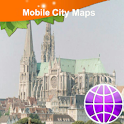 Chartres Street Map logo