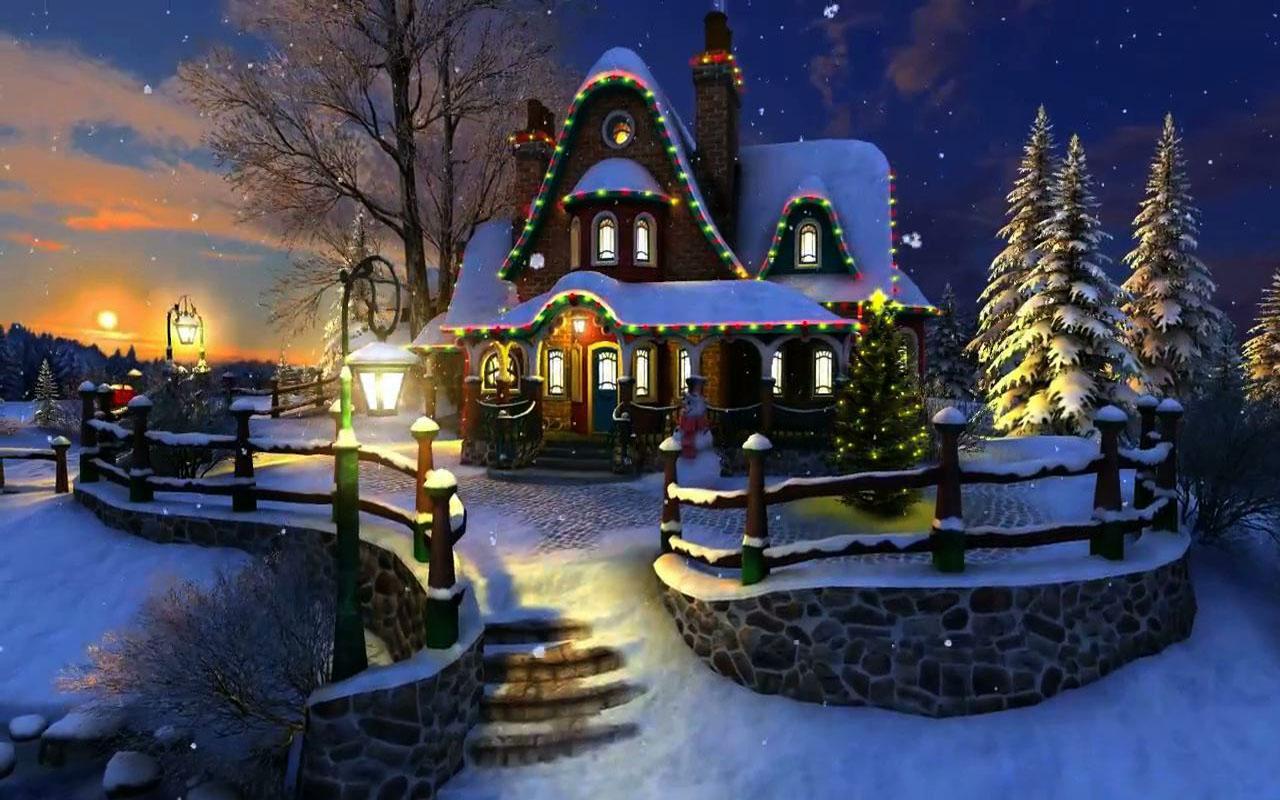 white christmas live wallpaper - google play store revenue