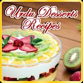 Urdu Dessert Recipes