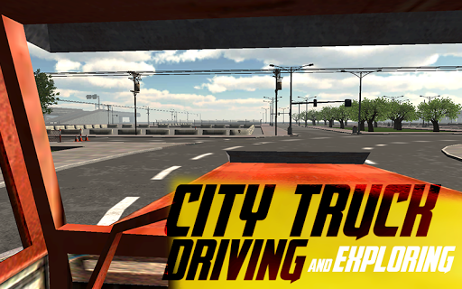 Real City Truck Driving