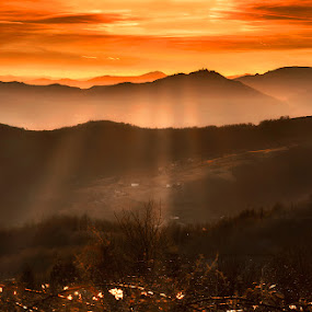 Bright by Geanina Boureanu - Landscapes Sunsets & Sunrises ( nature, landscape )