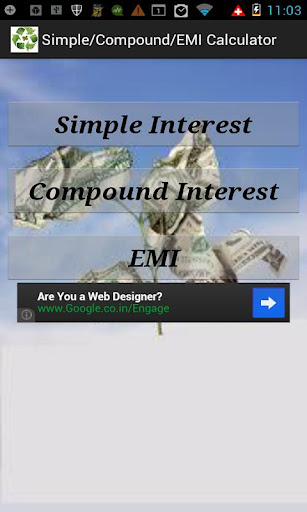 Simple-Compound-EMI Calculator