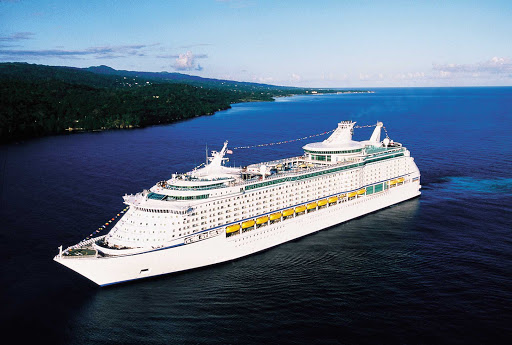 Voyager-of-the-Seas-aerial-3 - Sail off to Japan, China and Hong Kong on Voyager of the Seas.