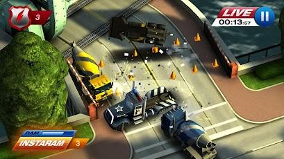 بازی تعقیب و گریز پلیس  Smash Cops Heat v.1.09.00
