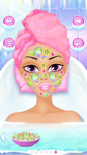 Игра Принцесса льда Спа салон для планшетов на Android