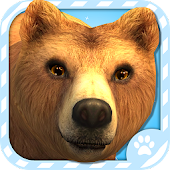 Virtual Pet Grizzly Bear
