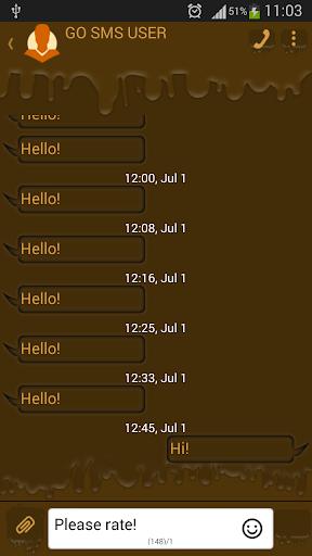 GO短信加强版巧克力