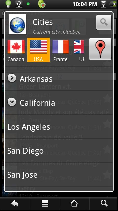 Cinemadroid Free USA Canada UK - screenshot