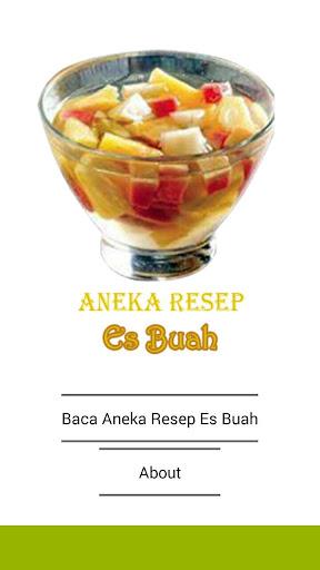 Aneka Resep Es Buah