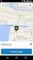 Screenshot of mytaxi Driver App