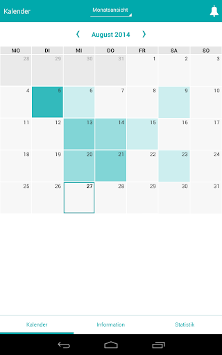 Migravent Migräne Kalender