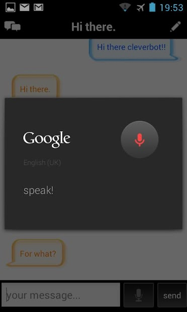 Google Home Cleverbot