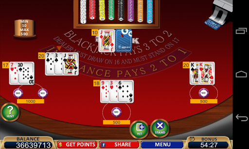 Blackjack 21+ Casino Card Game  3