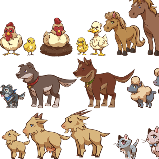 Animal sound guess game LOGO-APP點子