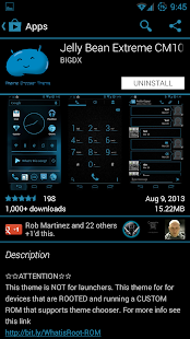 JB Extreme Theme CM11 AOKP - screenshot thumbnail