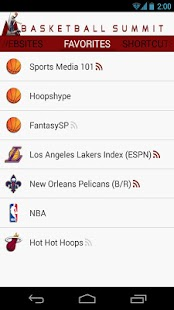 Basketball Summit: NBA news - screenshot thumbnail