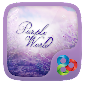 Purple World GO Launcher World