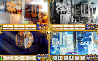 Screenshot of Time Gap Hidden Object Mystery