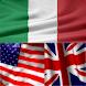 BK Dictionary Italian English
