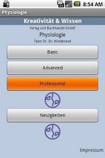 Physiologie - screenshot thumbnail