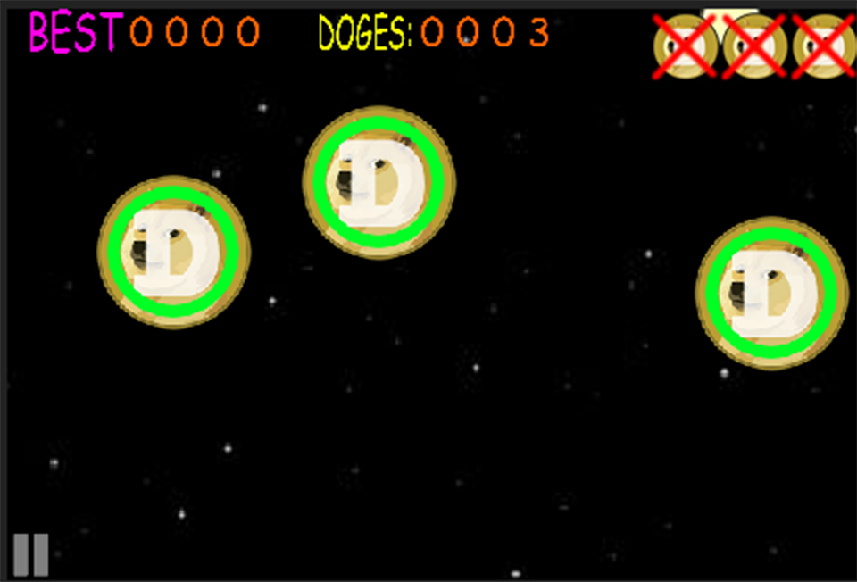DogeCoin Adventure- screenshot