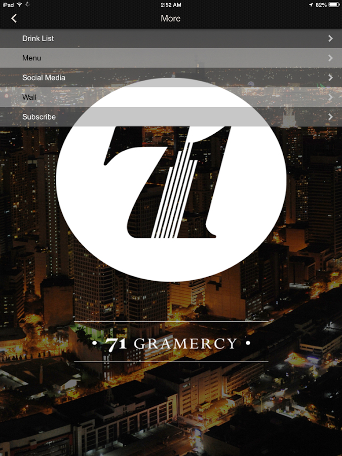 71 Gramercy - Android Apps on Google Play