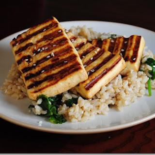 Grilled Asian Tofu.