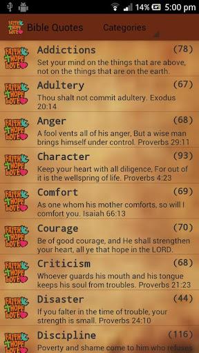 Holy Bible Quotes Adfree Key