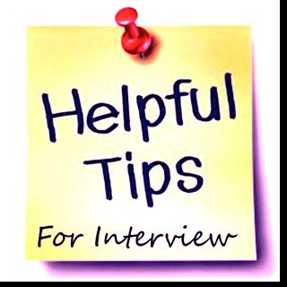 Passing a Job Interview Hints