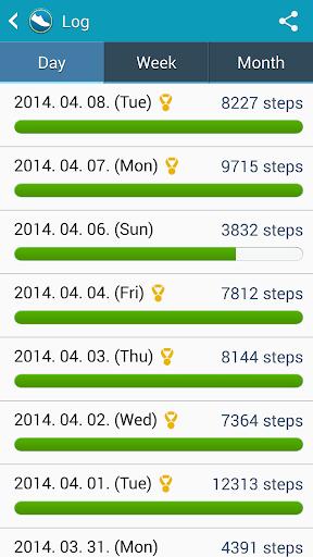 Samsung Activity Tracker  screenshots 3
