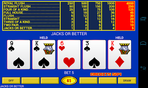 Video Poker - Original Games! - screenshot thumbnail
