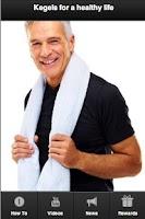 Screenshot of Kegel Exercises for Men