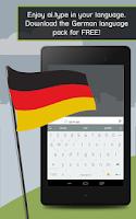 Screenshot of German for ai.type Keyboard