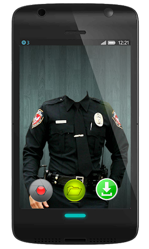 Police Suit Camera Photo