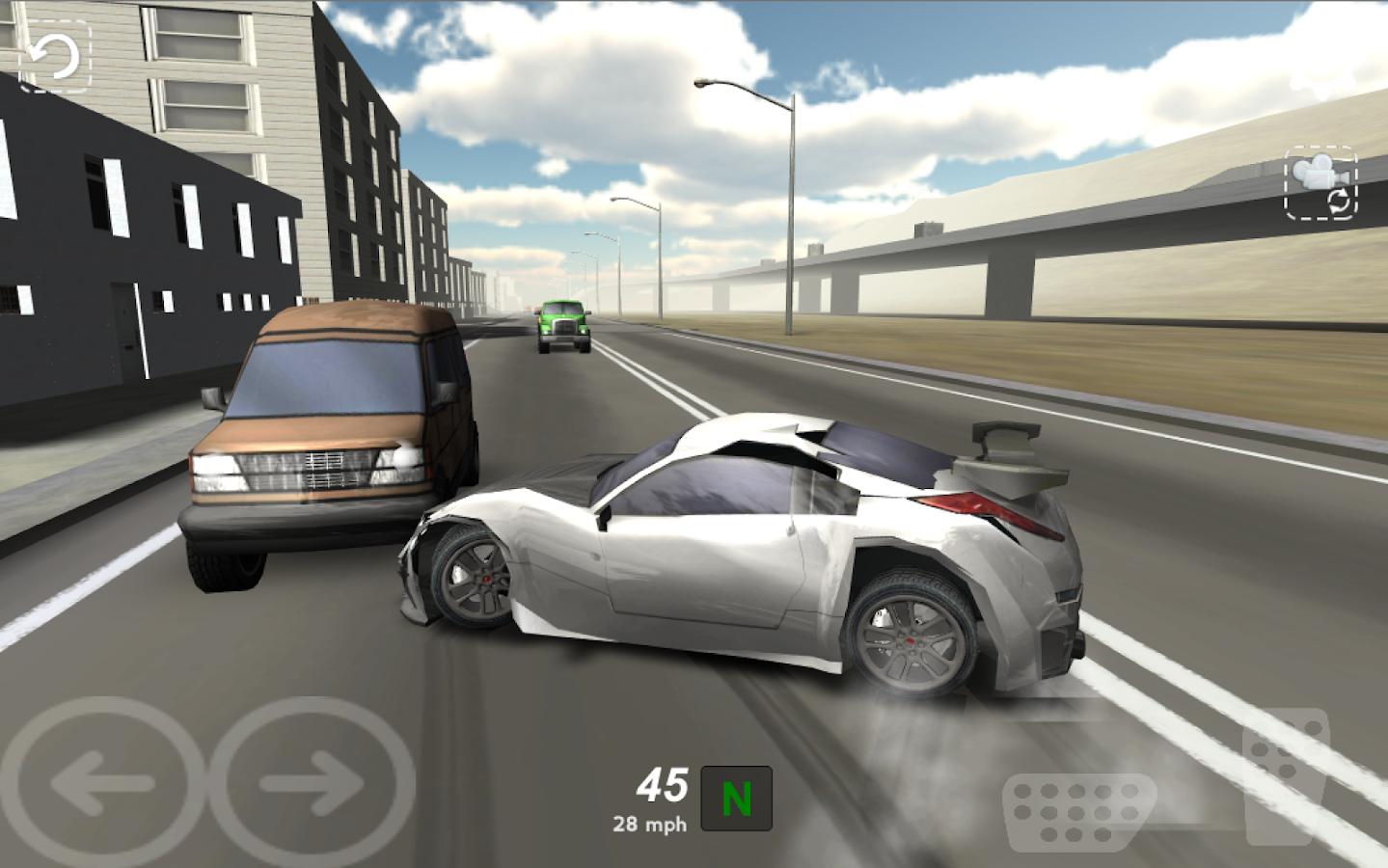 Игры На Андроид Traffic Racer Mod