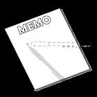 Invisible Pen Memo Note Taking icon