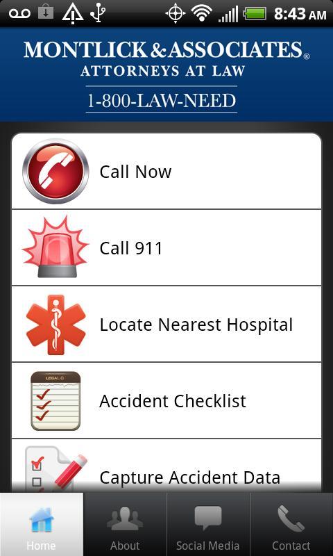 Montlick Mobile Accident Help- screenshot