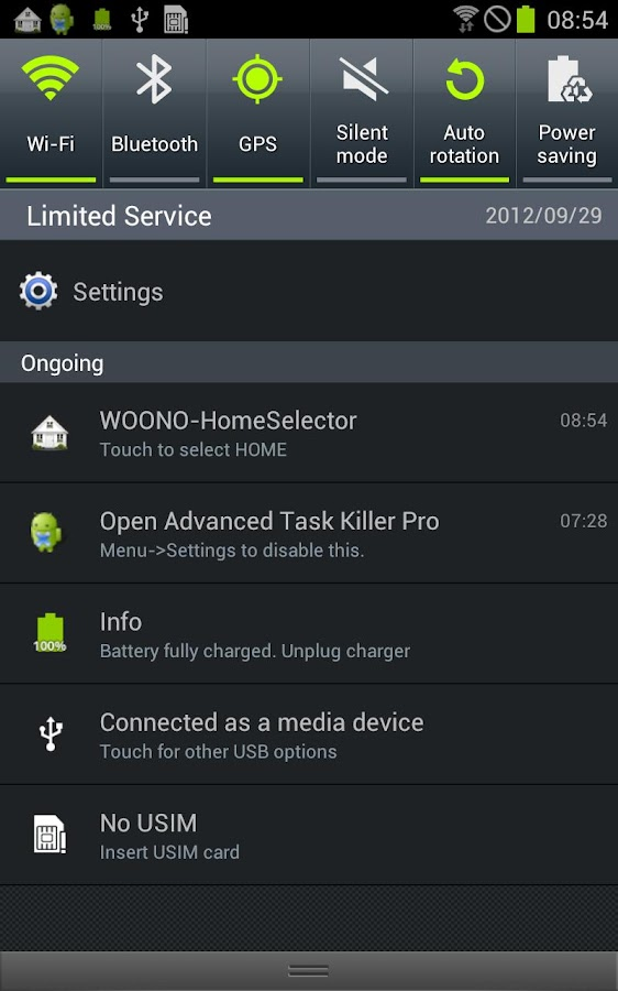 WOONO-Home Selector - screenshot
