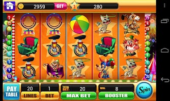 Screenshot of Circus Slots - Slot Machines