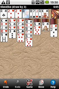 Can't Stop Solitaire screenshot