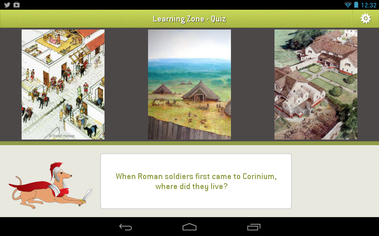 Romans - screenshot
