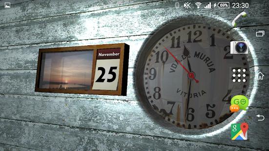 Clock and Calendar 3D 23