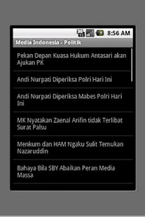Media Indonesia (unofficial) - screenshot thumbnail