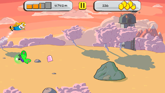Adventure Time Raider Screenshot