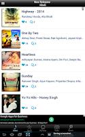 Screenshot of Hindi Songs & Bollywood Music
