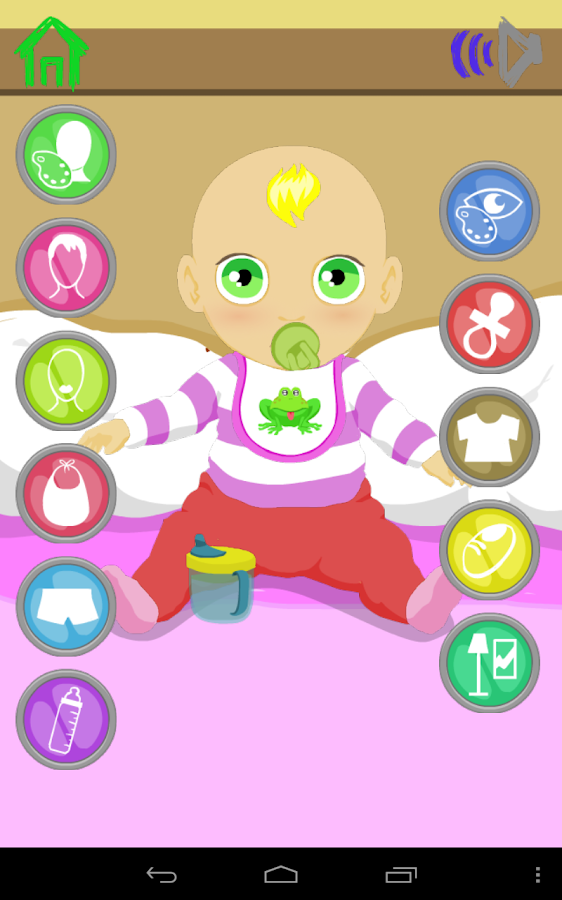 Baby Dress Up Games- screenshot