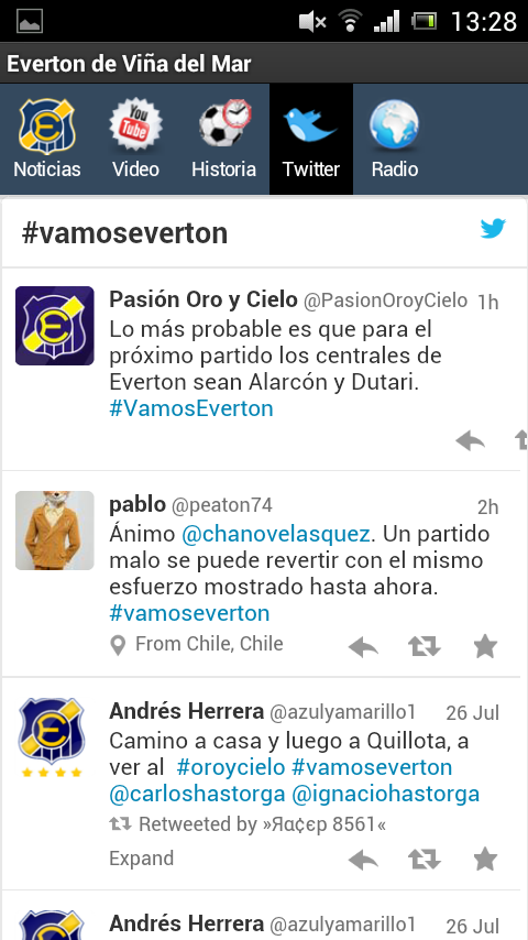 Everton de Viña del Mar - screenshot