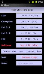 OB Wheel(Pregnancy calculator)- screenshot thumbnail