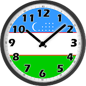 Uzbekistan Clock